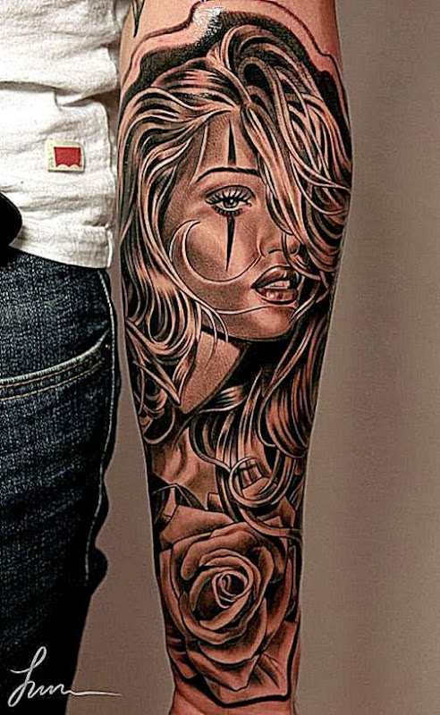55 Awesome Forearm Tattoos « Cuded – Showcase of Art amp Design