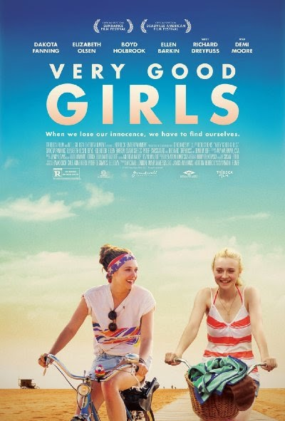 Poster Of English Movie Very Good Girls (2013) Free Download Full New Hollywood Movie Watch Online At Alldownloads4u.Com