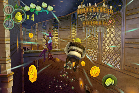 Shrek Forever After game for iphone