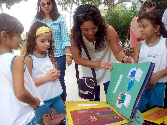 Natal: Alunos de escola infantil fazem exposição literária para os pais