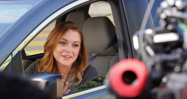 Lindsay Lohan is Sorta Your Mom in Esurance Ad