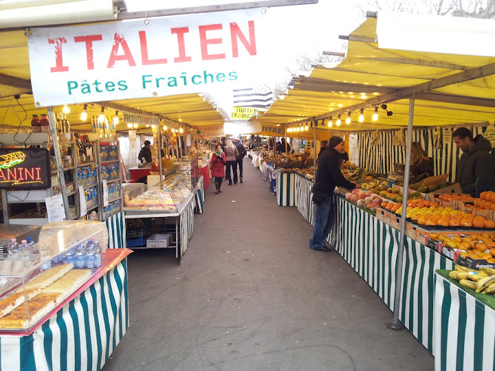 Markets in Paris!