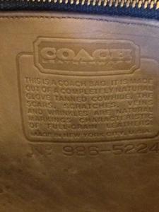 vintage coach purse serial numbers
