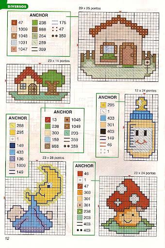 Gráficos punto de cruz 1001ideiaismini-21-11