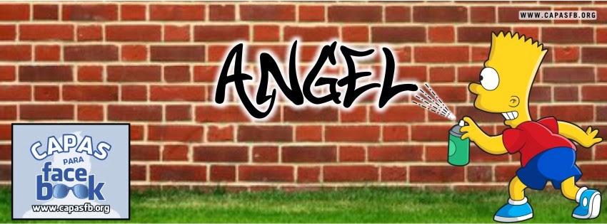 Capas para Facebook Angel