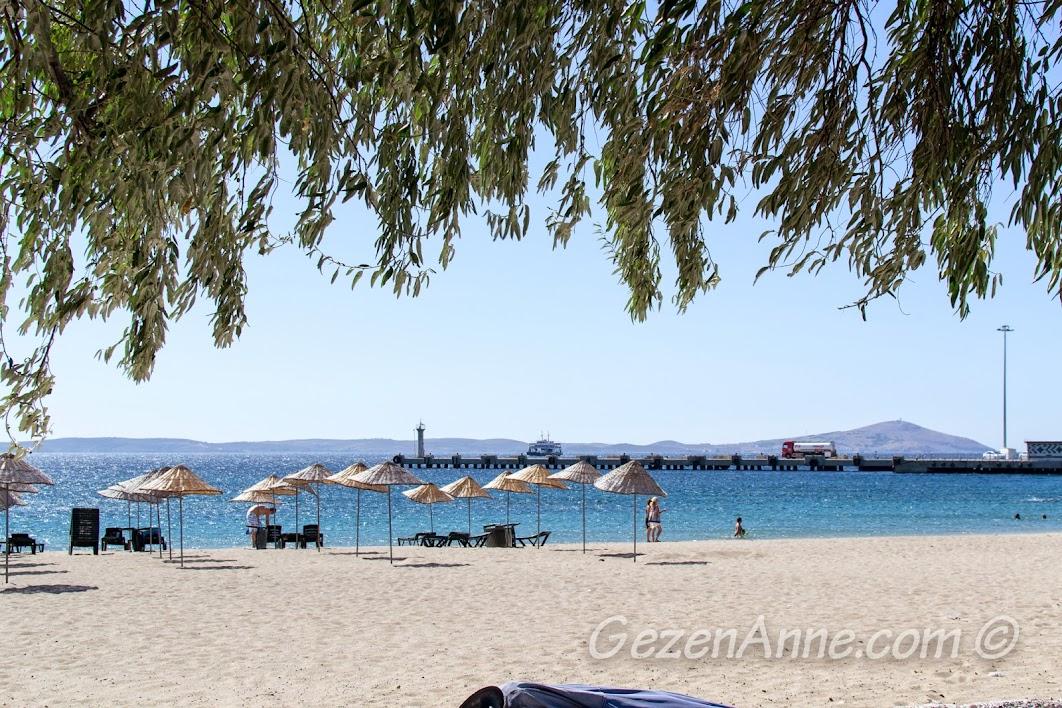 Geyikli'nin kum plajı