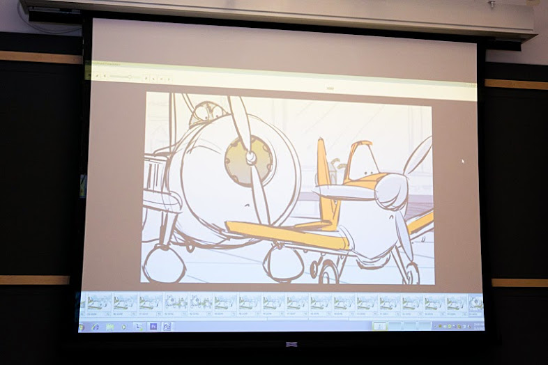 The Animation Design Process of Dusty with the Story Artists #DisneyPlanesBloggers