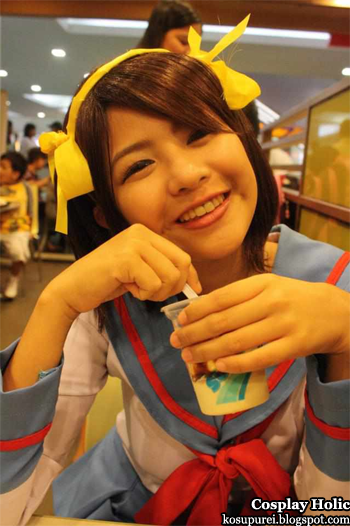 the melancholy of suzumiya haruhi cosplay - suzumiya haruhi by mary albert balbacal