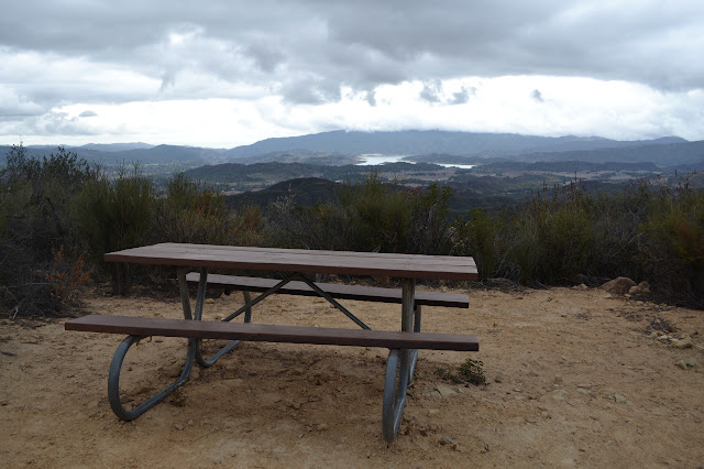 table 2 in front of Lake Casitas