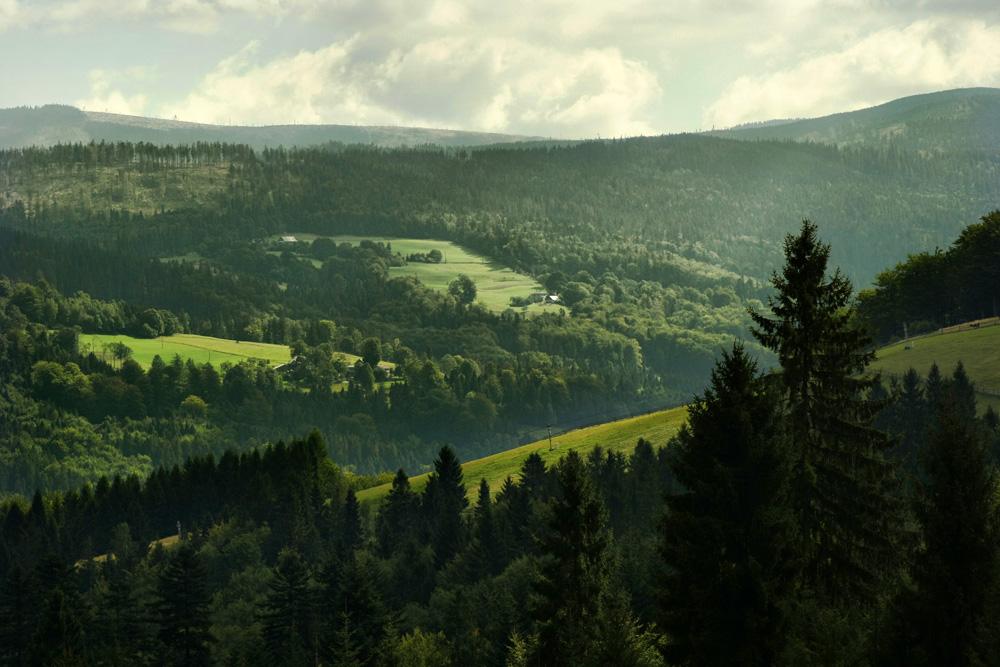 Szlak na Trzy Kopce Wiślańskie