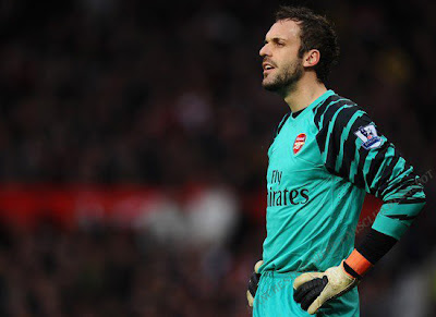 Manuel Almunia Goalkeeper Arsenal