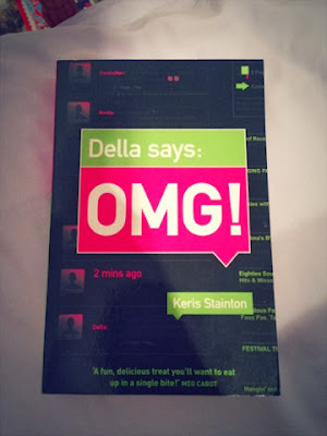 Della says OMG by Keris Stainton book review