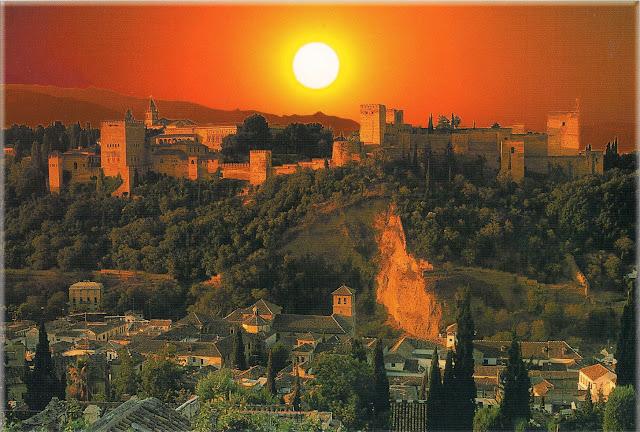 فى غرناطة مظاهر رمضانية بروح أوربية ( صور خاص لأمواج ) Alhambra%252520natt
