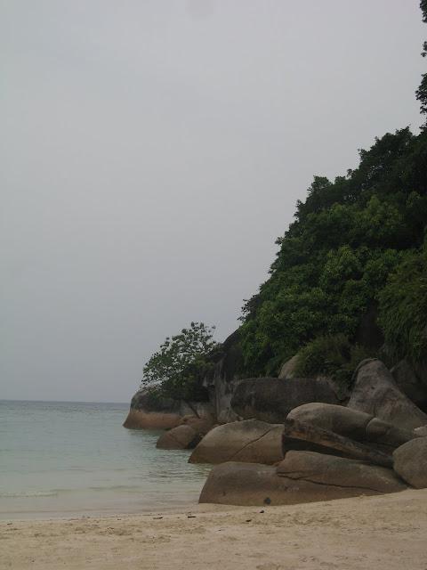 Blog de voyage-en-famille : Voyages en famille, Pulau Besar, Flora Bay