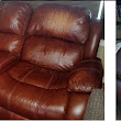For Sale:  Leather Loveseat & Recliner