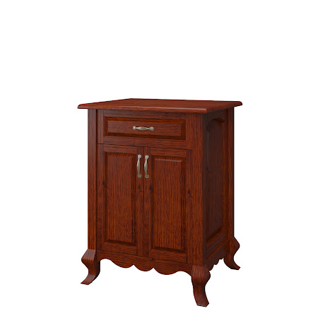 Orleans Nightstand with Doors, Stickley Hickory