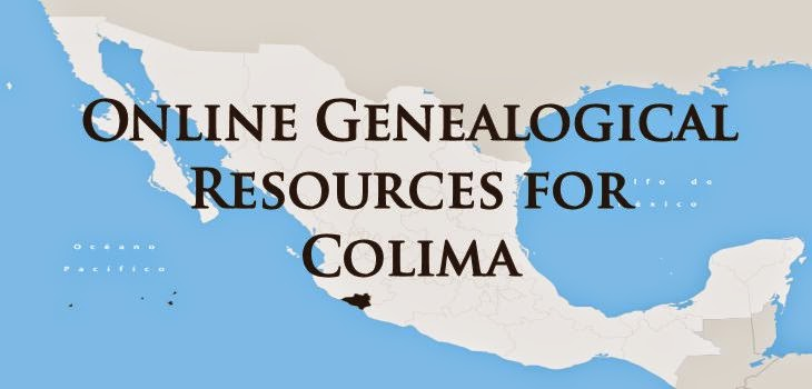 Online Genealogical Resources for Colima