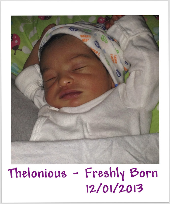 Happy 1st Birthday from Spirit of Life to Thelonious