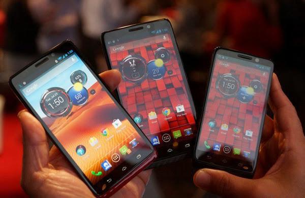Motorola giới thiệu bộ ba Droid Mini, Ultra và Maxx 3