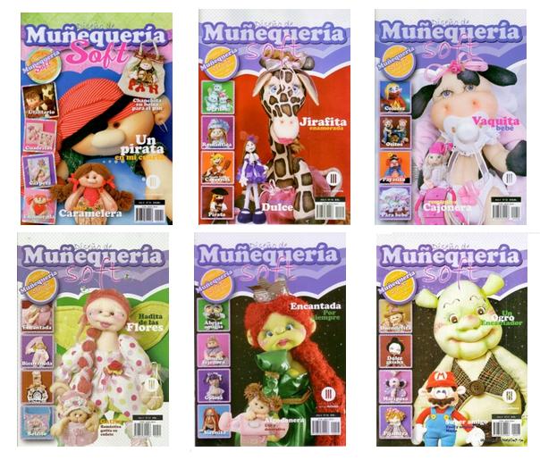 Revistas de manualidades Gratis: Revistas Muñecas Soft gratis