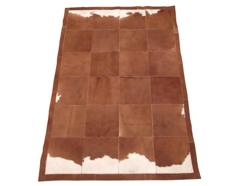 4e65e1cef The wonderful cowhide skin patchwork quilt