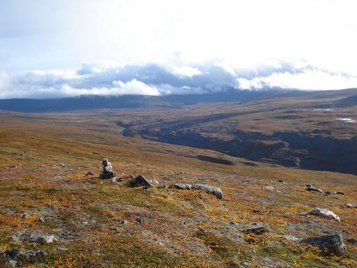 Kahlfjell auf dem Nordkalottleden