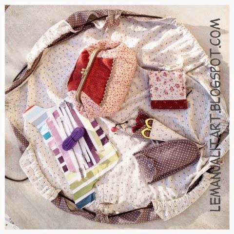 costura bonita: bolsa de trabajo
