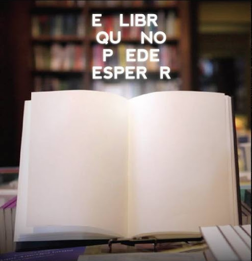 Idea innnovadora libro que se borra solo