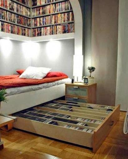 Mẫu thiết kế cho phòng ngủ vẫn đẹp trong nhà chật-9