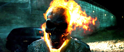 Ghost Rider Face
