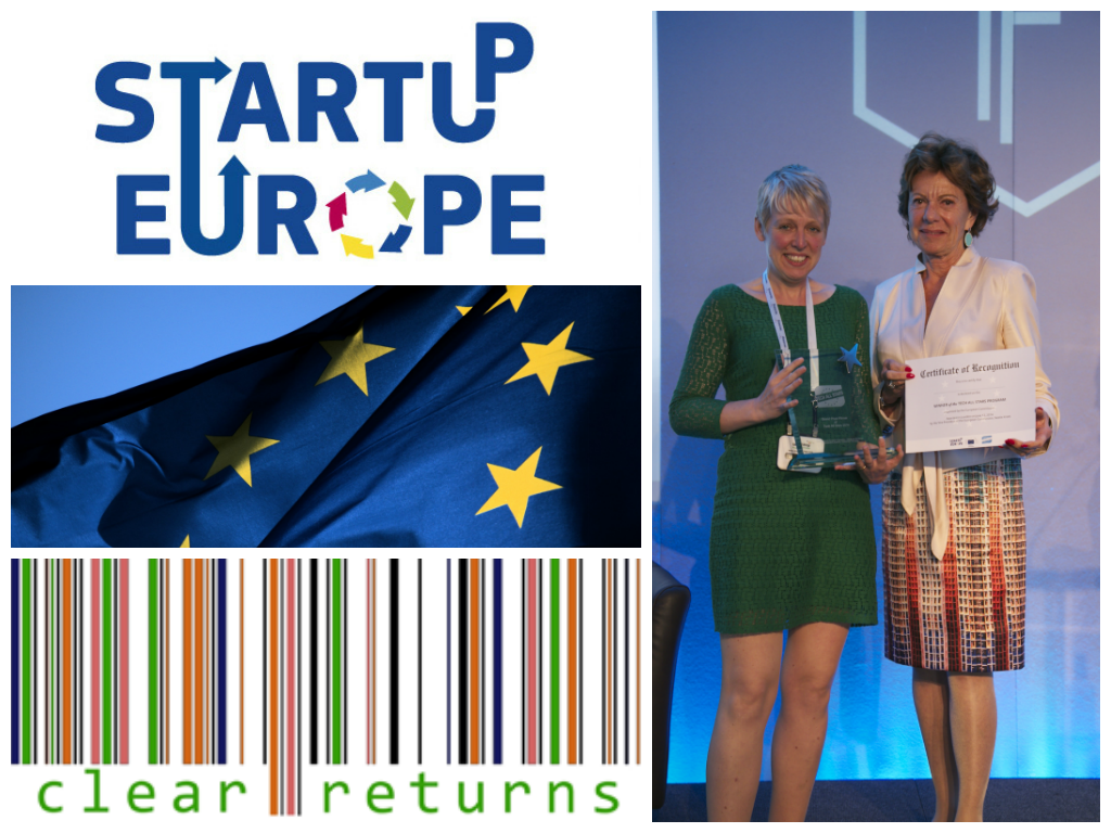 Clear Returns, a Scottish start-up, founded by Vicky Brock has been crowned Europe's best young start-up in the EU Tech All Stars competition ...