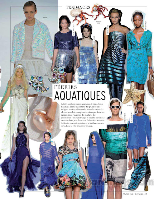 L'Officiel Tendances Printemps Ete 2012