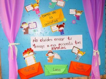 Preescolares ideas para decorar el aula for Ideas para decorar puertas de salon
