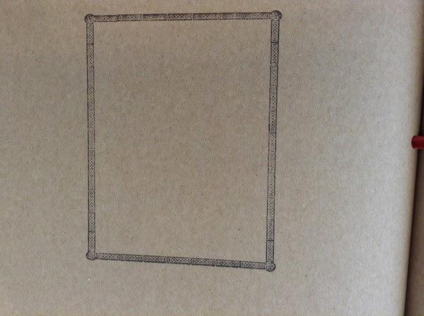 書末的空框叫你想到甚麼?