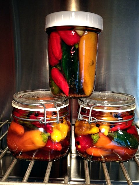 Hot Peppers: Pickling and Drying