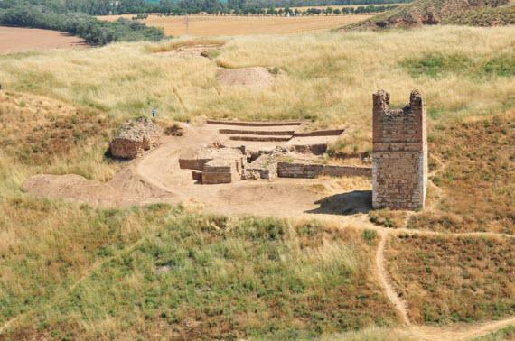 Recuperación de la fortaleza musulmana de Alcalá La Vieja