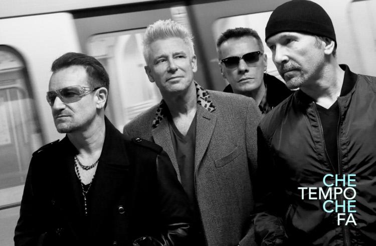 """U2 en """"Che Tempo Che Fa"""""""