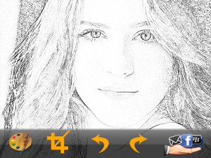 Photo-Sketch v1.2 untuk blackberry