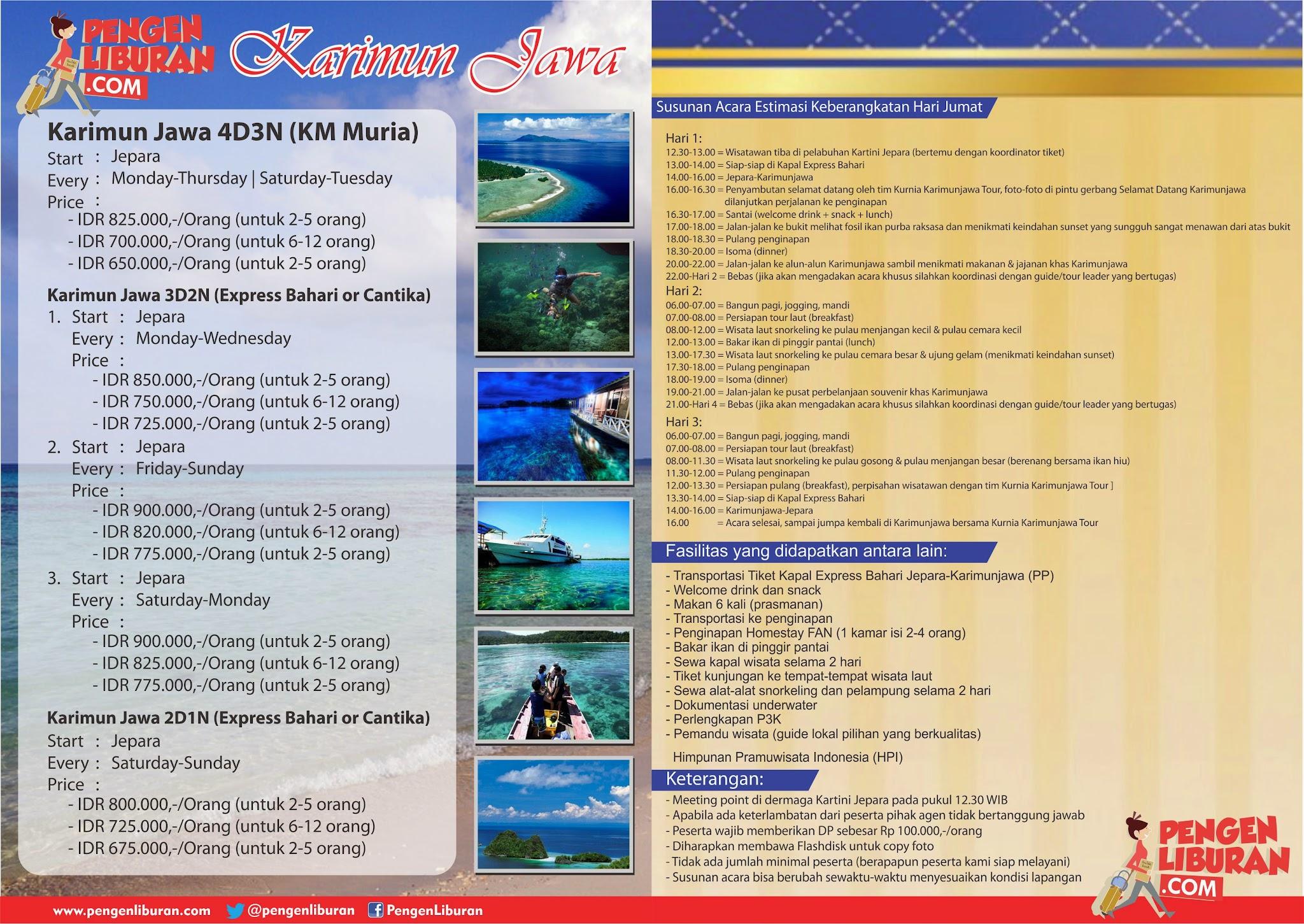 paket liburan murah ke pulau seribu