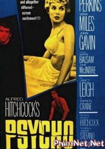 Tâm Thần Hoảng Loạn - Psycho - 1960