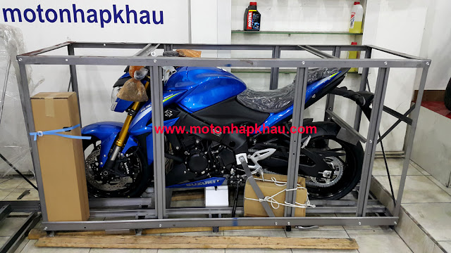 Suzuki GSX-S1000 ABS 2016 Màu Xanh