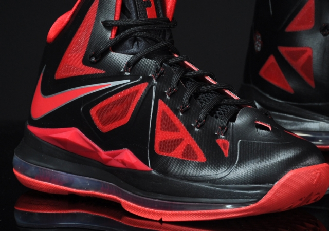 Nike LeBron X 8211 Black Red 8211 Available Early in Europe ... 22d8ba5f5f5e