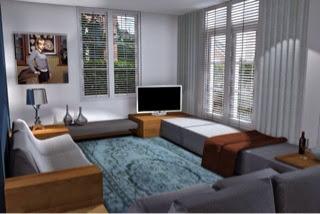 Arnoud herberts interieurarchitect ontwerpen woonkamer for Woonkamer ontwerpen