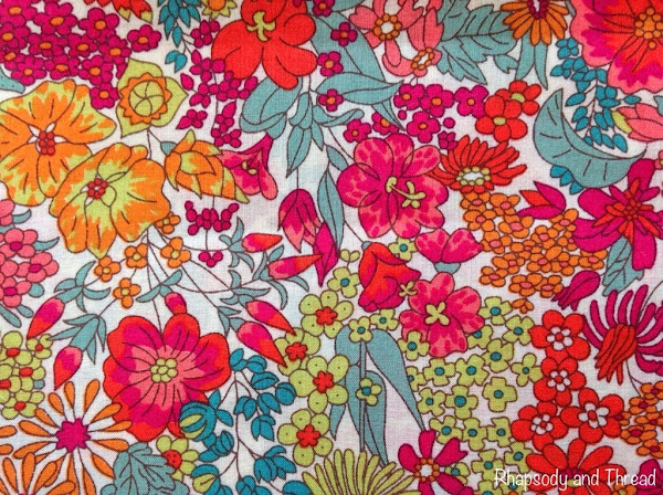 Margaret Annie print by Liberty of London