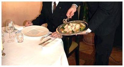 Numinis servi o inglesa for Tipos de comida francesa
