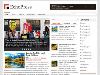 EchoPress – by Fthemes