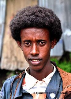 adolescent etíop