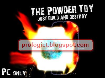 Tapi hati-hati juga menggunakan Powder Toy physics Simulator, memang ...