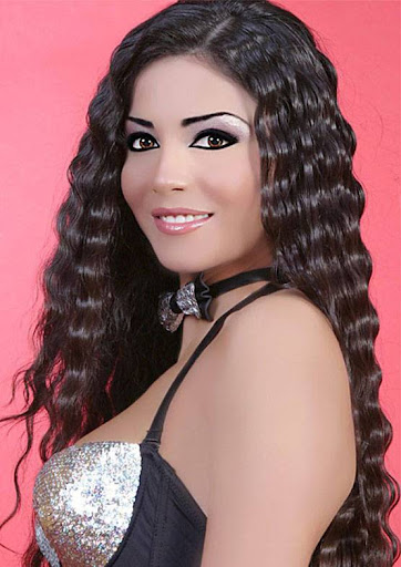 Arab Model Dolly Chahine nice hair face