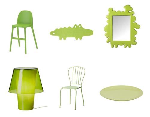 decorar con verde en verano